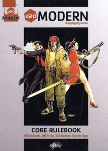 d20 Modern Roleplaying Game: Core Rulebook (Repost)