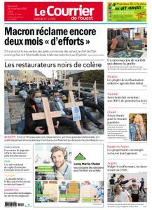 Le Courrier de l'Ouest Angers – 25 novembre 2020