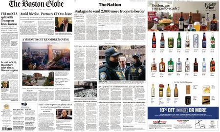 The Boston Globe – January 30, 2019