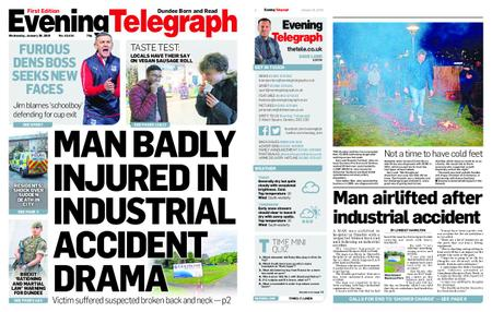 Evening Telegraph First Edition – January 30, 2019