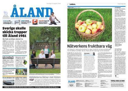 Ålandstidningen – 30 augusti 2018