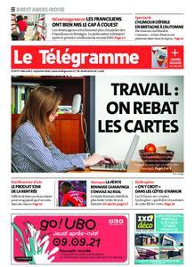 Le Télégramme Brest Abers Iroise – 01 septembre 2021