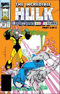 Incredible Hulk 366 1990
