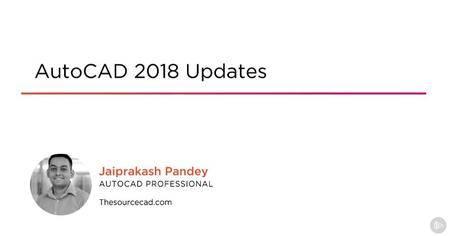 AutoCAD 2018 Updates