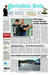 Oberhessische Presse Marburg/Ostkreis - 21. September 2018