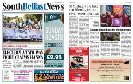 South Belfast News – November 15, 2019