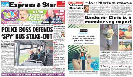 Express and Star City Edition – September 22, 2018