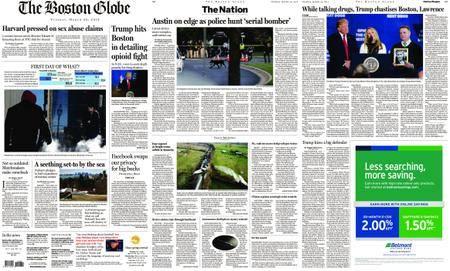 The Boston Globe – March 20, 2018