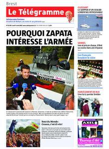 Le Télégramme Brest Abers Iroise – 05 août 2019