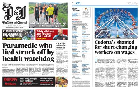 The Press and Journal Moray – August 05, 2021