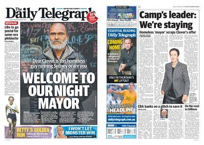 The Daily Telegraph (Sydney) – August 08, 2017