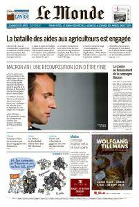 Le Monde du Vendredi 4 Mai 2018