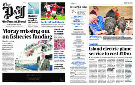 The Press and Journal Moray – October 17, 2018