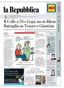 la Repubblica - 25 Maggio 2018