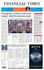 Financial Times Middle East - January 7, 2021