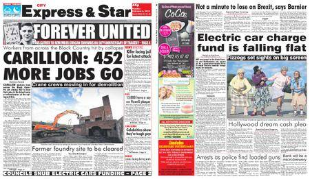 Express and Star City Edition – February 06, 2018