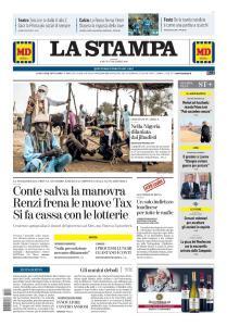 La Stampa Roma - 7 Dicembre 2019