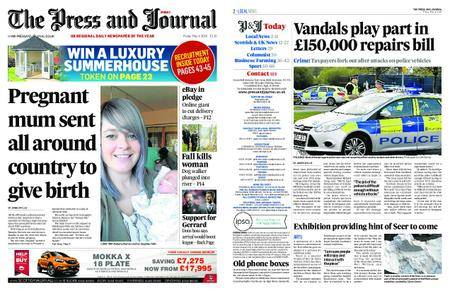The Press and Journal Moray – May 04, 2018