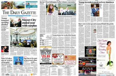 The Daily Gazette – January 15, 2019