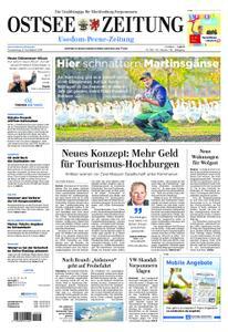 Ostsee Zeitung Wolgast - 08. November 2018