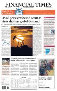 Financial Times USA - April 21, 2020