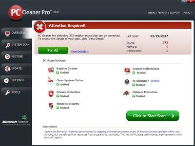 PC Cleaner Pro 2017 14.0.17.1.19