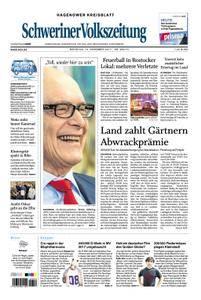 Schweriner Volkszeitung Hagenower Kreisblatt - 12. Dezember 2017