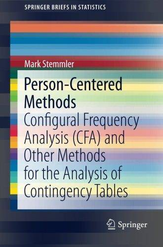 Person-Centered Methods: Configural Frequency Analysis (CFA) and Other Methods for the Analysis of Contingency Tables (Repost)