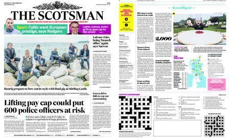 The Scotsman – September 27, 2017