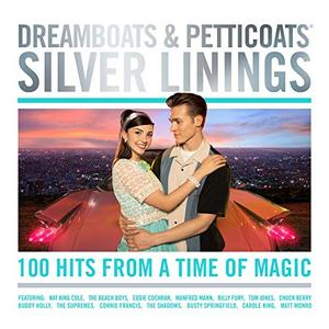 VA - Dreamboats & Petticoats - Silver Linings (4CD, 2019)
