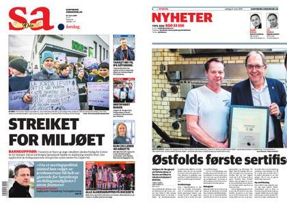Sarpsborg Arbeiderblad – 23. mars 2019