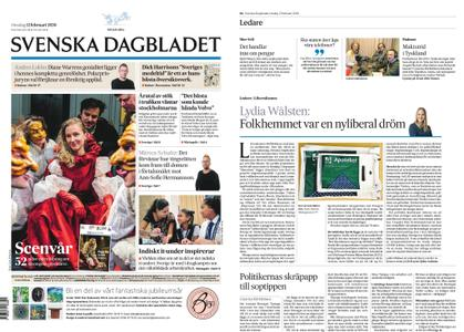Svenska Dagbladet – 12 februari 2020