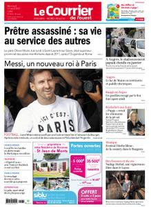 Le Courrier de l'Ouest Angers – 11 août 2021