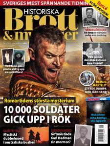 Historiska Brott & Mysterier – juni 2021
