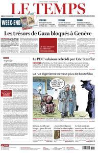 Le Temps - 02 mars 2019