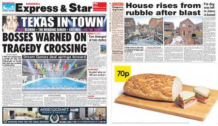 Express and Star Sandwell Edition – September 29, 2017