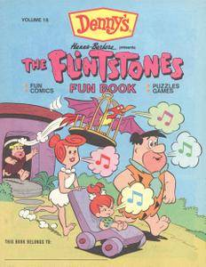 Flintstones Fun Book 18 Dennys 1990