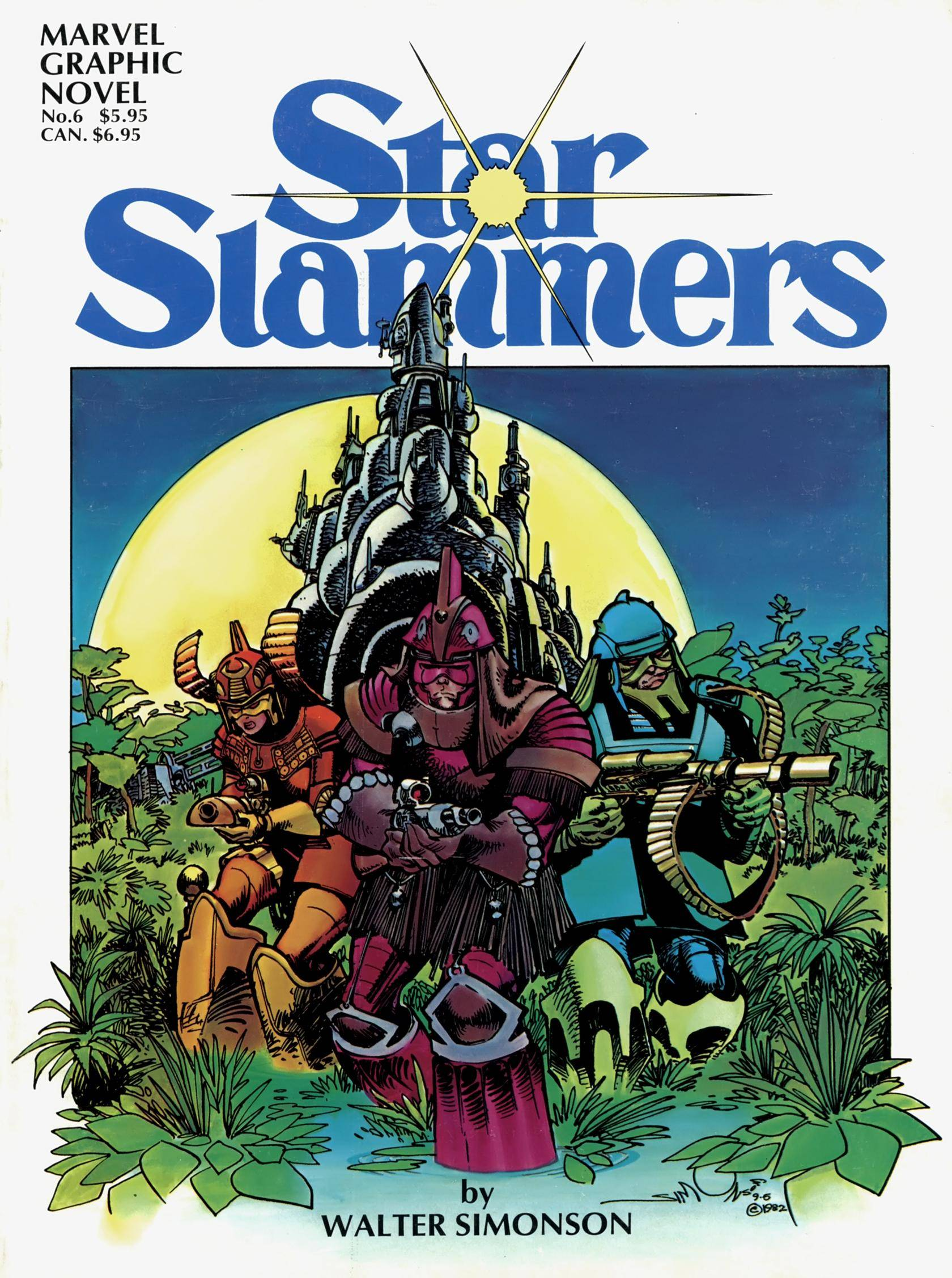 Marvel Graphic Novel 6 - Star Slammers 1983