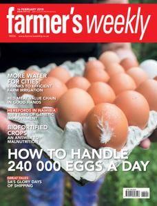 Farmer's Weekly - 16 February 2018