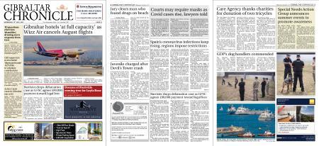 Gibraltar Chronicle – 14 July 2021