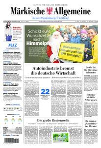 Neue Oranienburger Zeitung - 15. November 2018