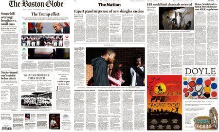The Boston Globe – October 26, 2017