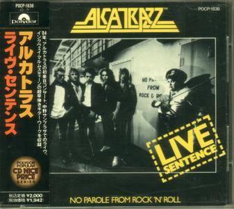 Alcatrazz - Live Sentence (1984) {1991, Japanese Reissue}