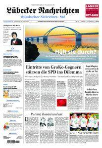 Lübecker Nachrichten Ostholstein Süd - 25. Januar 2018