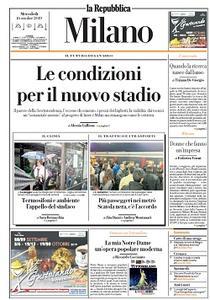 la Repubblica Milano - 16 Ottobre 2019