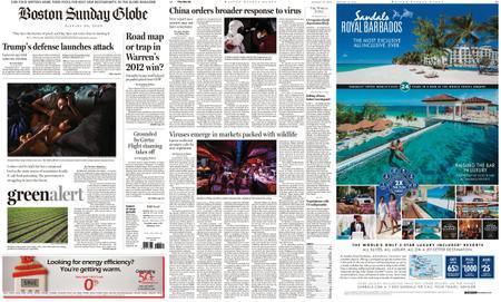 The Boston Globe – January 26, 2020