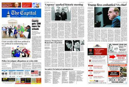 The Capital – March 29, 2018