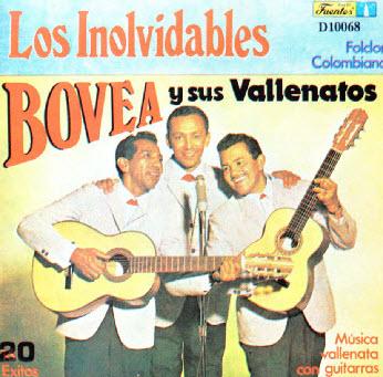 Los Inolvidables - Bovea y sus Vallenatos (1990)