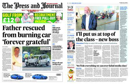 The Press and Journal Moray – September 08, 2017
