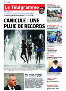 Le Télégramme Landerneau - Lesneven – 24 juillet 2019